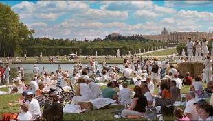 Pique-nique rŽpublicain. Chateau de Versailles, 14 juillet 2008.